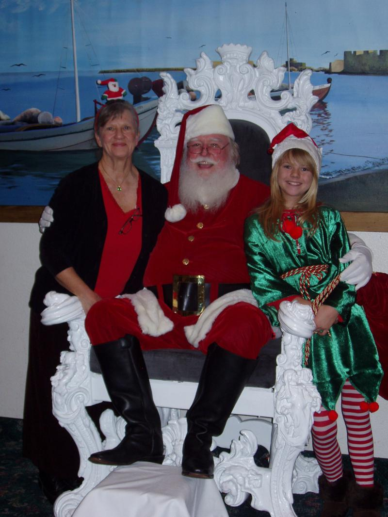 Santa and Mrs. Claus and Elf #1