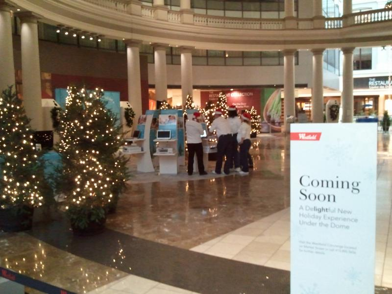 MICROSOFT CHRISTMAS EVENT AT WESTFIELD MALL SAN FRANCISCO.